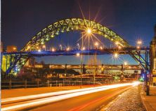 The Tyne Bridges at Night